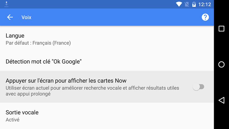 android m date sortie nouveautes fonctionnalites image google now on tap options images 01