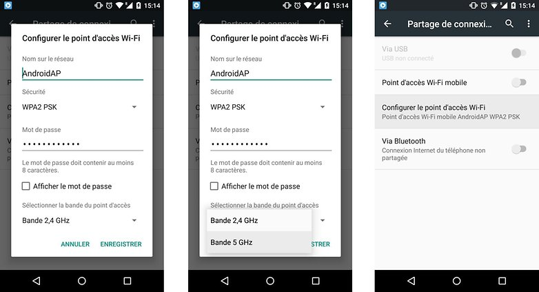 android m partage connexion ameliore bande frequence 2 4 5 ghz images 01