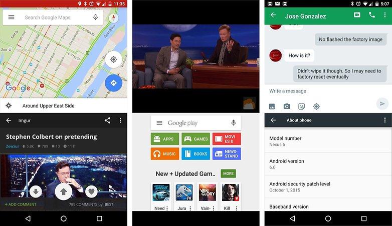 Provate fin da subito le funzioni di android nougat sul for Multi fenetre android