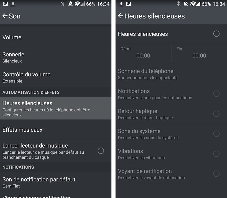android oneplus one heures silencieuses image 00