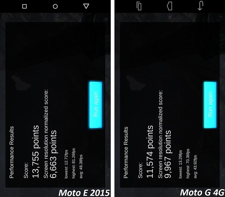 android test motorola moto e 2015 vs moto g 4g gpubench