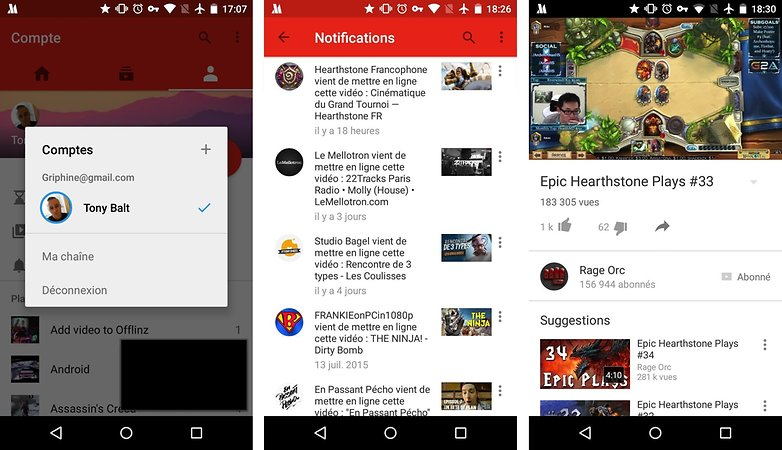 android youtube nouvelle interface interface new ui 23 07 2015 images 02