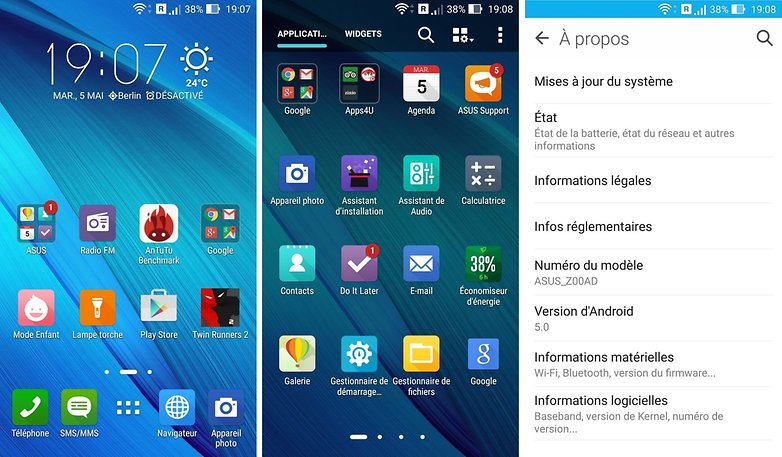 androidpit france copyright asus zenfone 2 ze551ml interface logicielle images 01