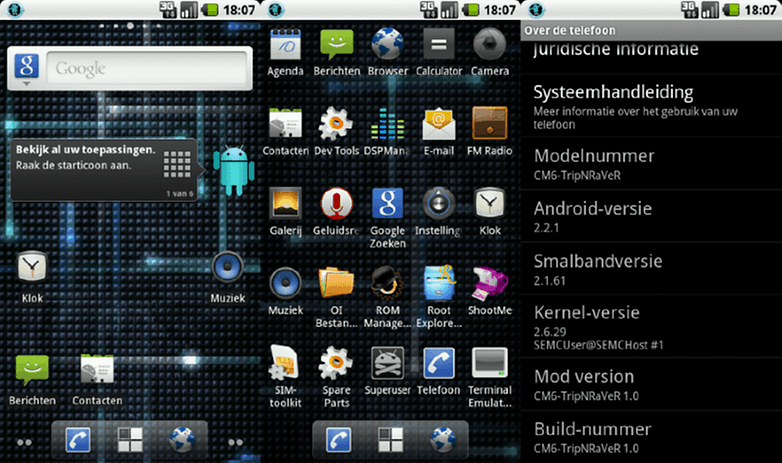 androidpit france cyanogenmod 6 android 2 3 gingerbread image 00