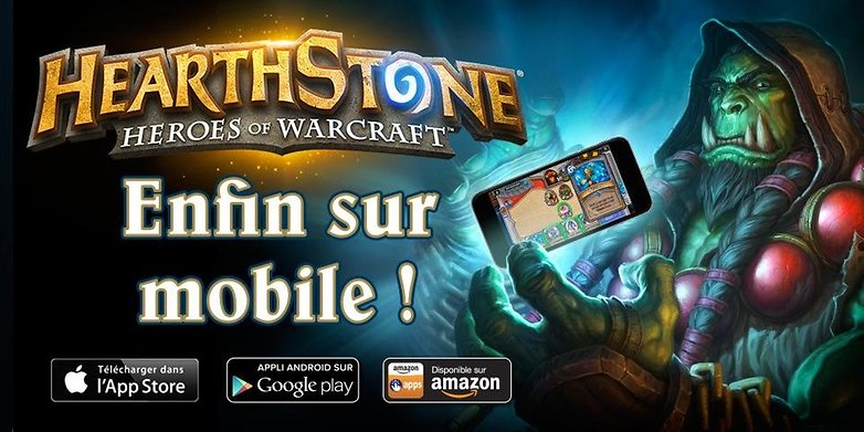 androidpit france hearthstone disponible telechargement smartphone android image officielle 00