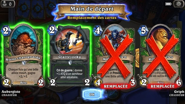androidpit france hearthstone disponible telechargement smartphone android image officielle 01