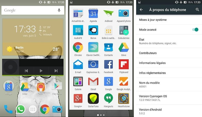androidpit oneplus one vs asus zenfone 2 interface logicielle image 01