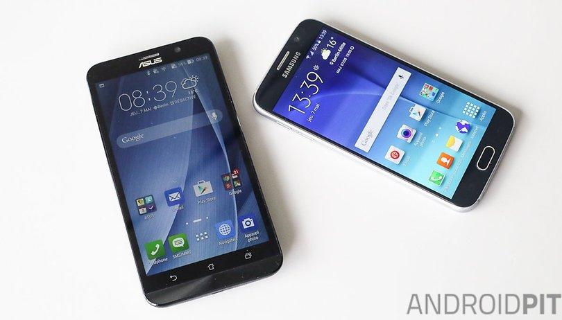 Zenfone 2 vs Galaxy S6 : les deux rivaux improbables mis sur le champ de bataille