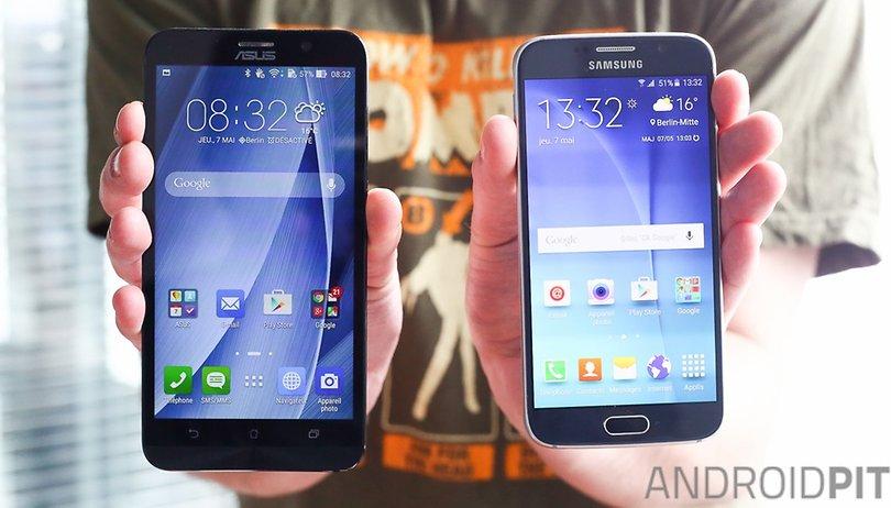 Galaxy Note 5 vs. Zenfone 2: as semelhanças acabam em 4GB de RAM