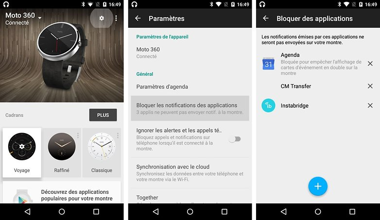 comment ameliorer duree batterie android wear bloquer notifications applications images 01
