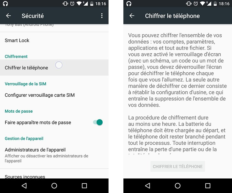 comment ameliorer securite smartphone android chiffrer telephone images 01