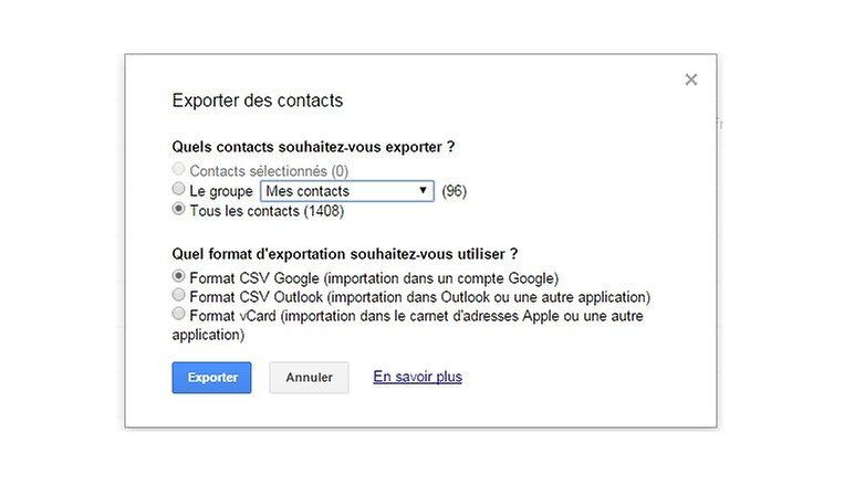 comment degoogliser android google agenda importer contact image 00