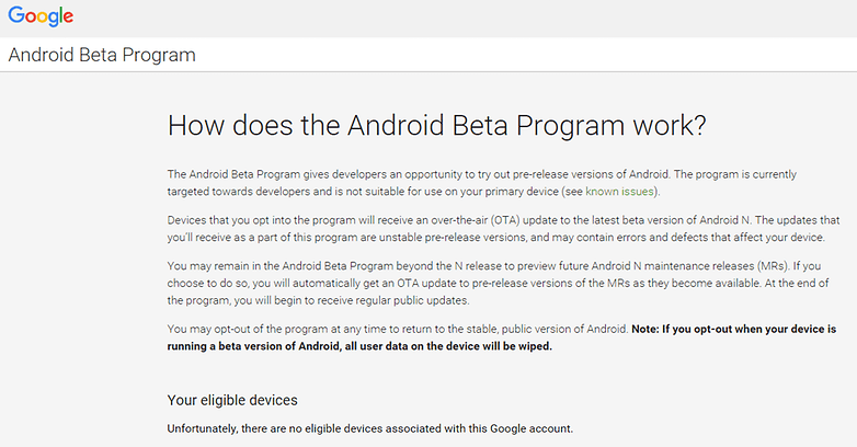 comment installer android n google nexus android beta program image 00