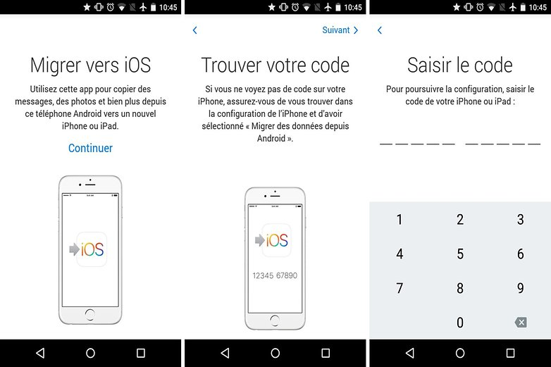 comment transferer android vers iphone ipad move to ios migrer vers ios apple images 00