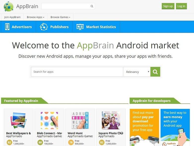 comment trouver nouvelles meilleures applications android appbrain image 00