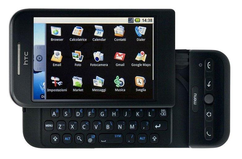 connaissez vous le tout premier smartphone android htc dream g1 t mobile image hero 06