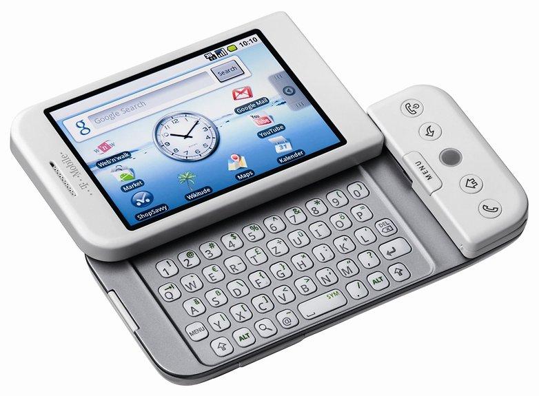 connaissez vous le tout premier smartphone android htc dream g1 t mobile image hero 07