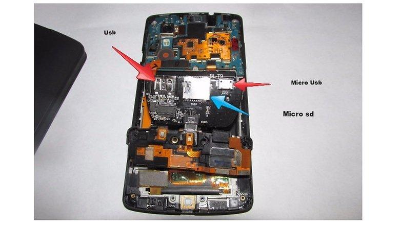 google nexus 5 ajouter lecteur micro sd image 01