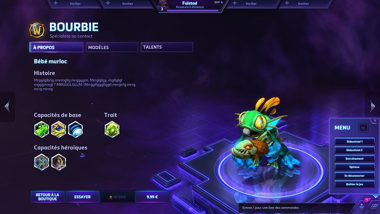 heroes of the storm capture ecran par tony balt bourbie murky androidpi fr