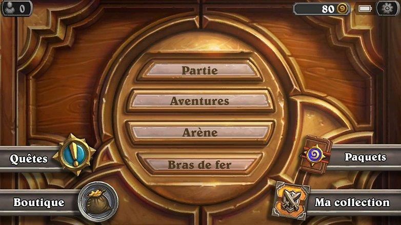 installer hearthstone smartphone android menu bras de fer image 01