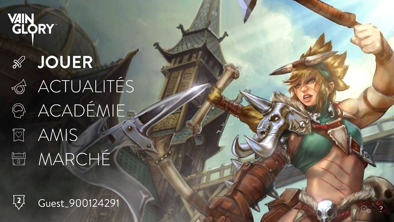 jeux alternatives dota android vainglory 0
