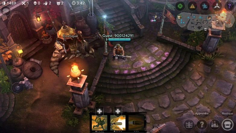 jeux alternatives dota android vainglory 2