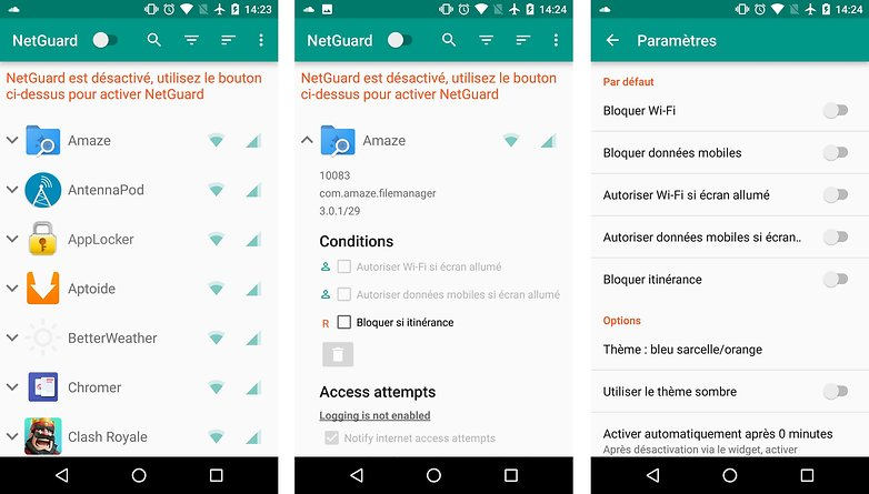 meilleures applications android open source netguard images 00