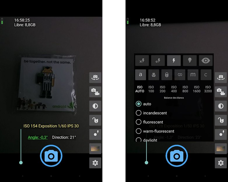 les meilleures applications d 39 appareil photo sous android androidpit. Black Bedroom Furniture Sets. Home Design Ideas
