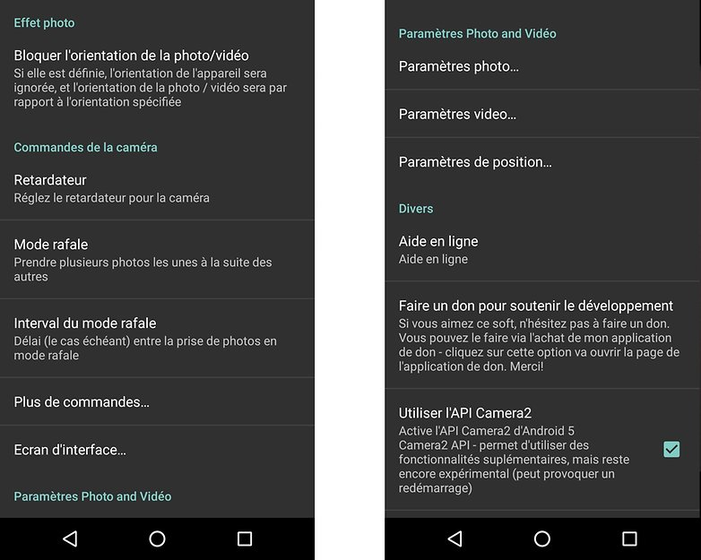 meilleures applications appareil photo android open camera 02