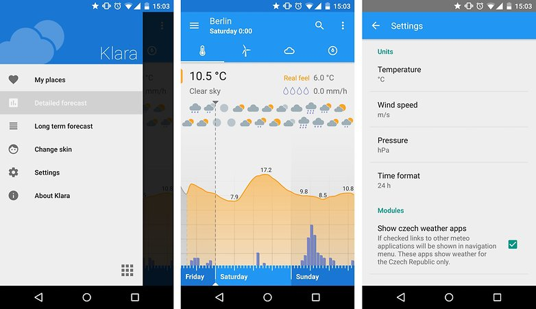 meilleures applications meteo android klara images 01