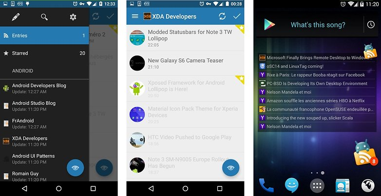 meilleures applications rss android flym news reader ui interface 00