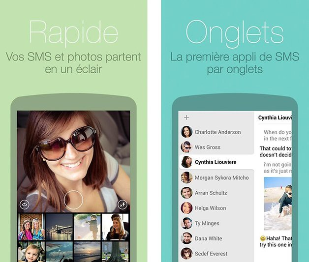 meilleures applications sms android hello sms