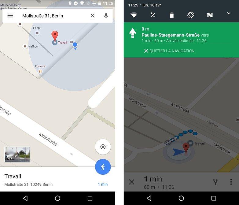 Handleiding google maps navigatie