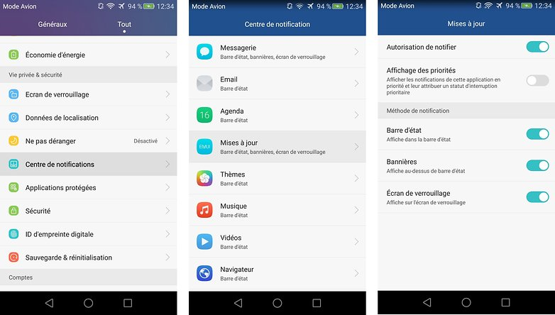 meilleurs trucs astuces honor 5x personnaliser endroit affichage notifications alertes android images 01