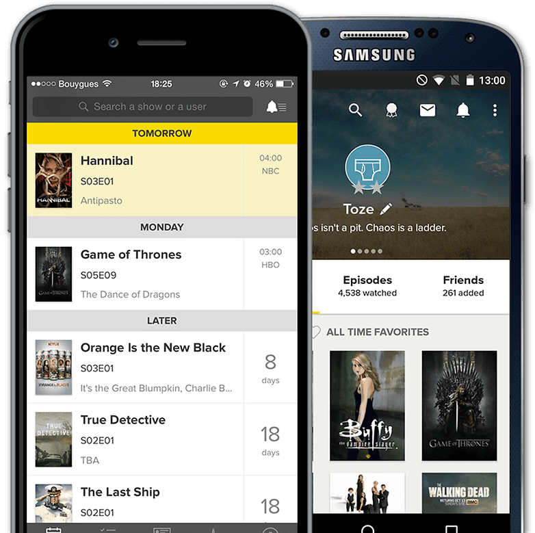 meilleurs widgets android tvshow time image 00
