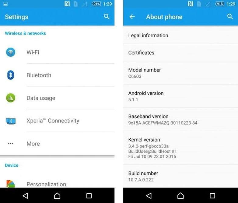 mise a jour android lollipop smartphones tablettes image mise a jour sony xperia z zl zr tablet z lte blabla image 00