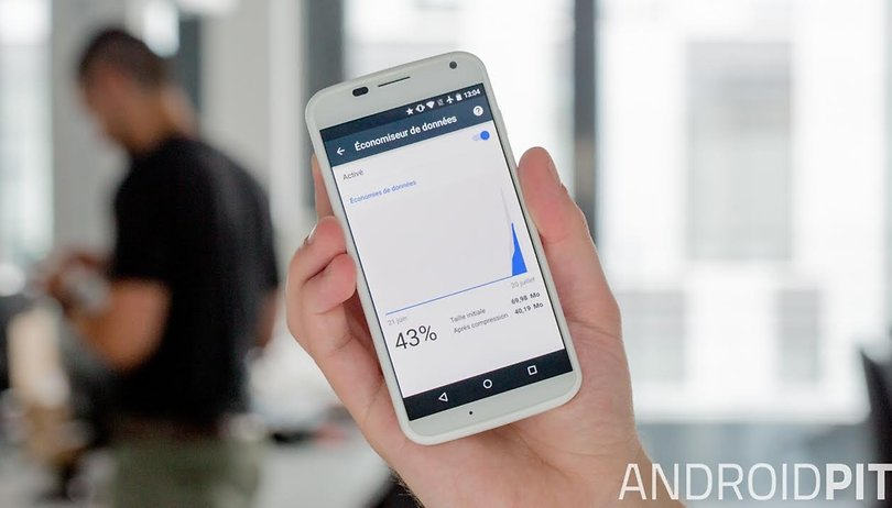 Comment diviser la consommation des données mobiles par deux ?