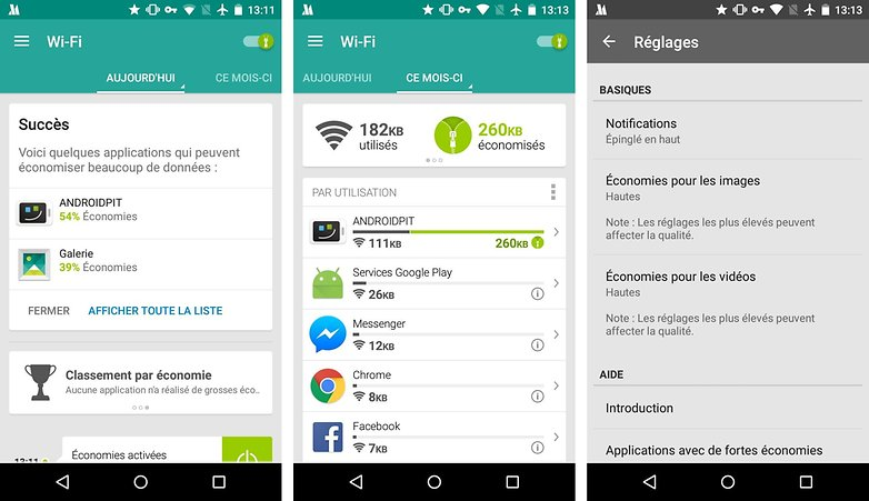 reduire optimiser consommation donnees android s5 s4 mini nexus 5 note 3 s3 g3 opera max image 00