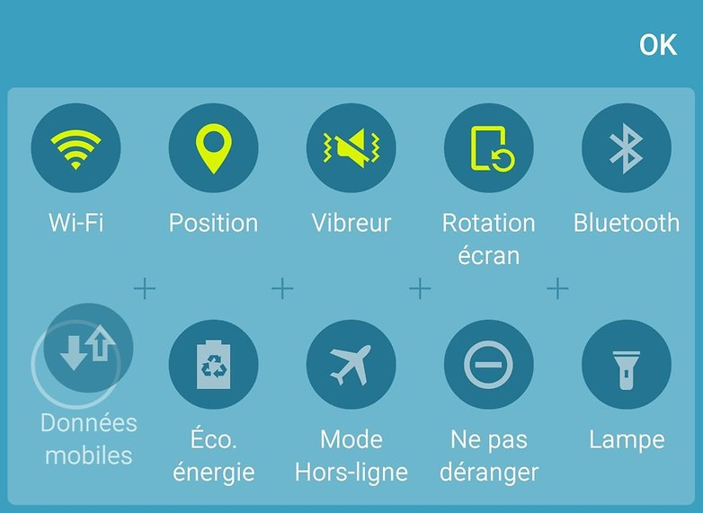 samsung galaxy s6 problemes solutions donnees mobiles data toggle raccourci rapide image 00