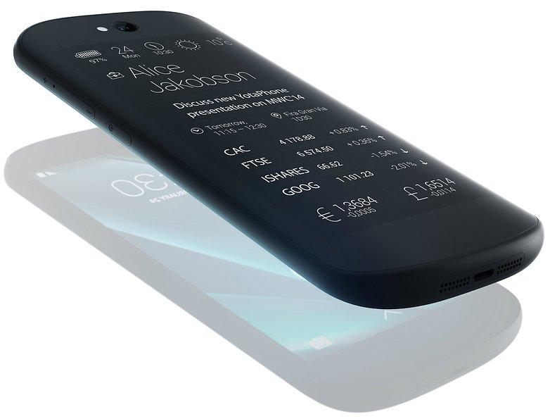 smartphones android les plus originaux yotaphone 2 image 02
