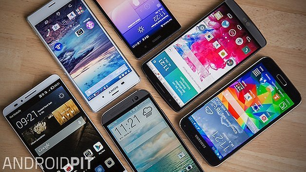 smartphones collage androidpit