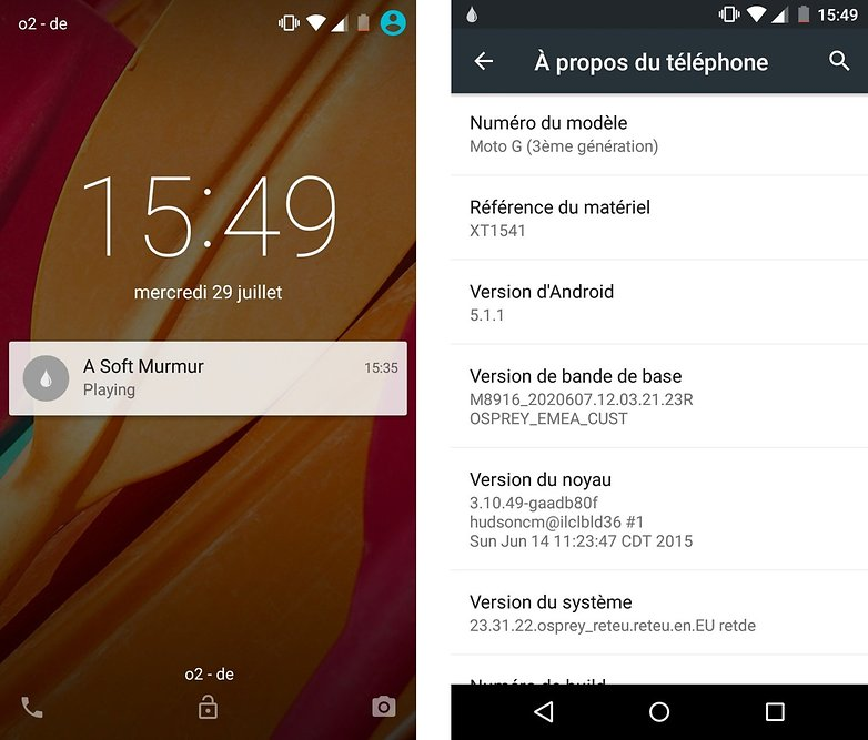 test comparatif moto g 2015 vs moto g 2014 interface logicielle android version images 00