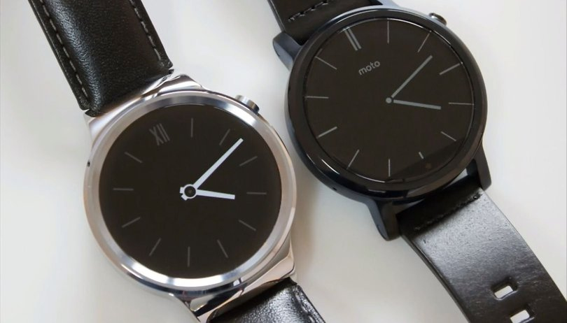 Test comparatif : Motorola Moto 360 (2nd gen) vs Samsung Gear S2