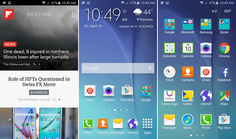 test comparatif oneplus two vs samsung galaxy s6 touchwiz ui image 00