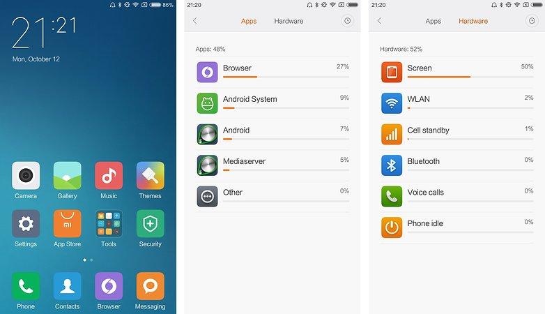 test complet android xiaomi mi 4c autonomie batterie image 00