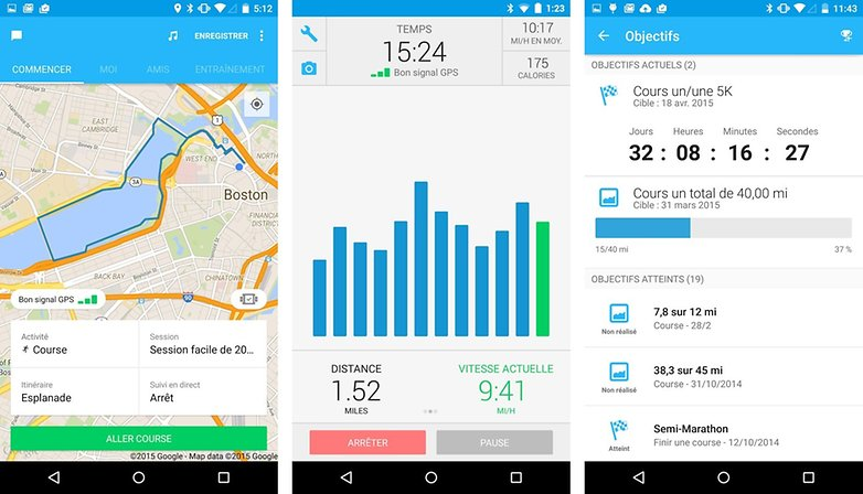 top 5 meilleures applications sport android runkeeper images 01