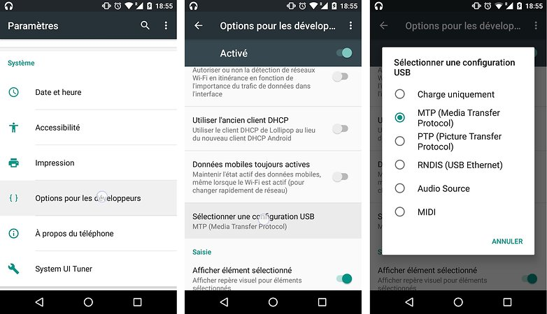 trucs astuces android 6 0 marshmallow acceder configuration etendue usb image 00