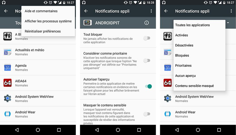trucs astuces android 6 0 marshmallow configurer personnaliser alertes notifications applications image 01
