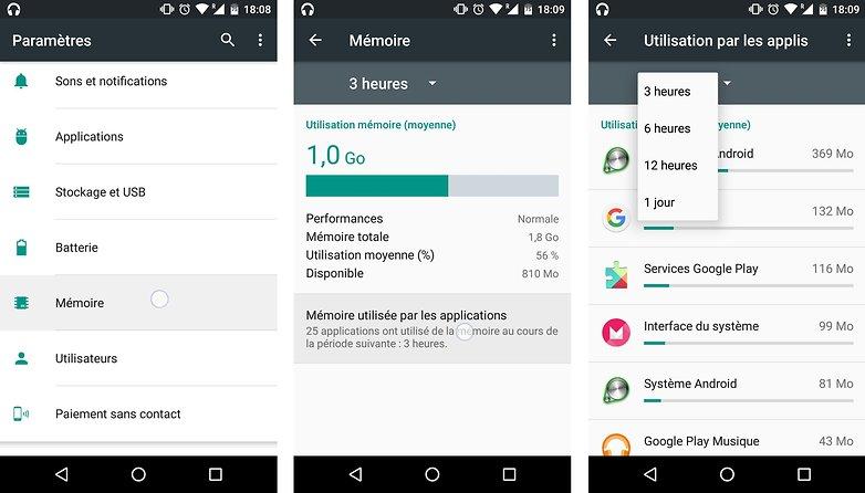 trucs astuces android 6 0 marshmallow voir utilisation memoire vive ram applications processus image 01