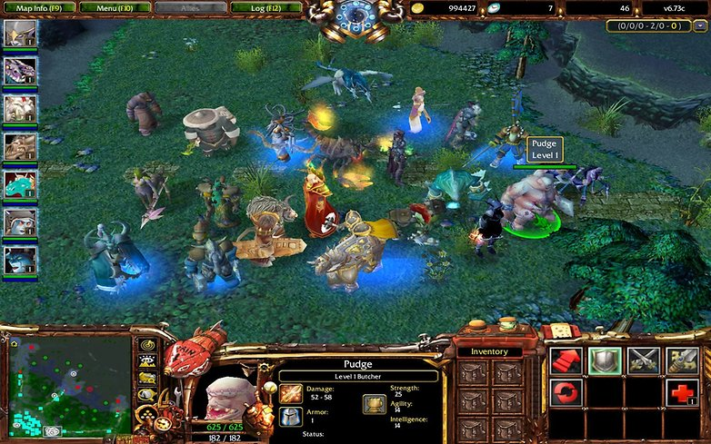 warcraft 3 reign of chaos moba dota exemple image 01 ModDB